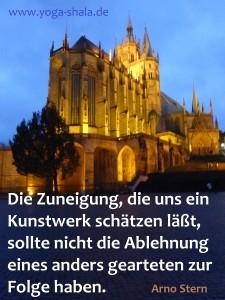 2015 11 02 Arno Stern Zitat Zuneigung für Kunstwerk und Ablehnung