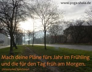 2016 02 20 Mach deine Pläne am frühen Morgen im Yoga-Shala Erfurt