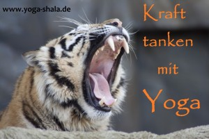 2016 Kraft tanken im Yoga-Shala Erfurt