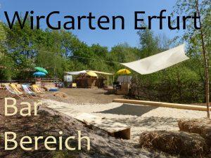 WirGarten Bar und Sand Bereich Yoga am Sonntag mit Yoga-Shala