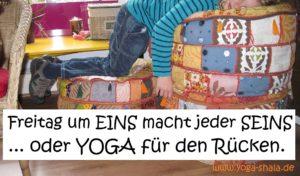 Yoga für den Rücken - Kurse mit Nadine Claudia