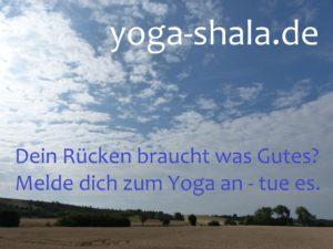 VHS Erfurt Yoga Kurse mit Nadine Claudia